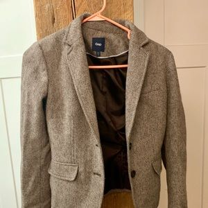 GAP Tweed Blazer